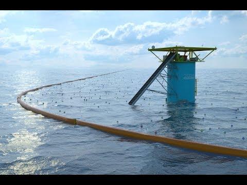 Un Néerlandais de 21 ans concrétise son rêve de dépolluer les océans