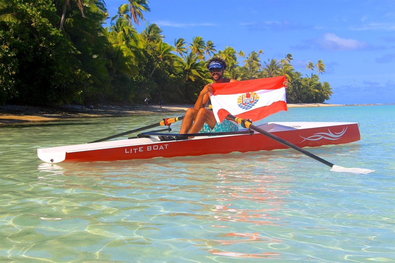 L'aviron aurait un fort potentiel en Polynésie grâce à un vivier de rameurs important