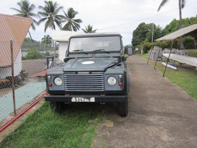 Cette Land Rover à Hiva Oa est à vendre au plus offrant