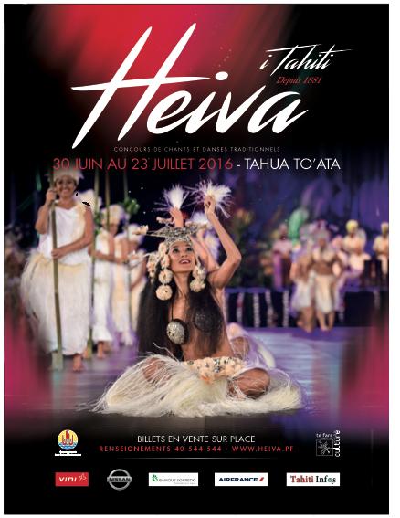 Gagnez des places pour le Heiva sur notre page Facebook