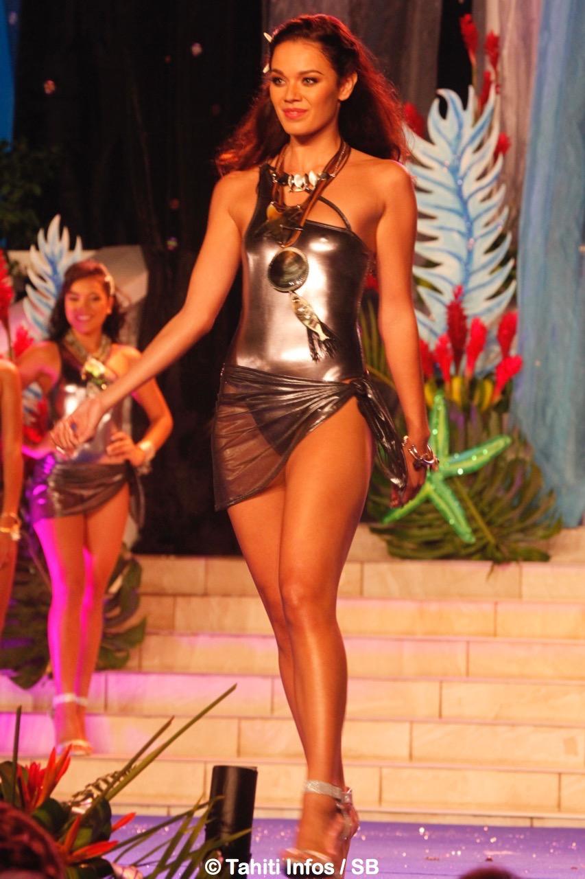 Vaea Ferrand a été élue Miss Tahiti 2016