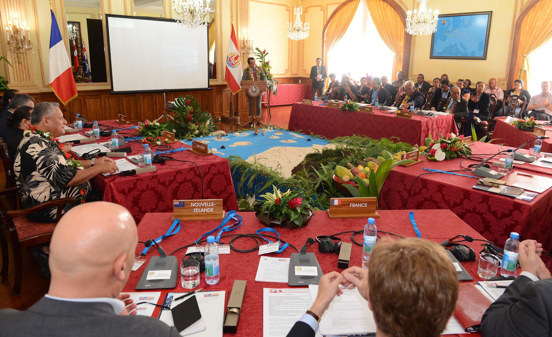 Le Groupe des dirigeants polynésiens est réuni depuis jeudi et ce jusqu'à vendredi.