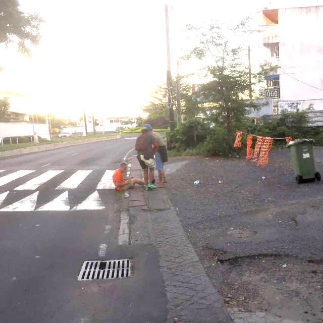 Les photos ont été prises par un ingénieur japonais en mission à Tahiti. (Photo prises sur Facebook)