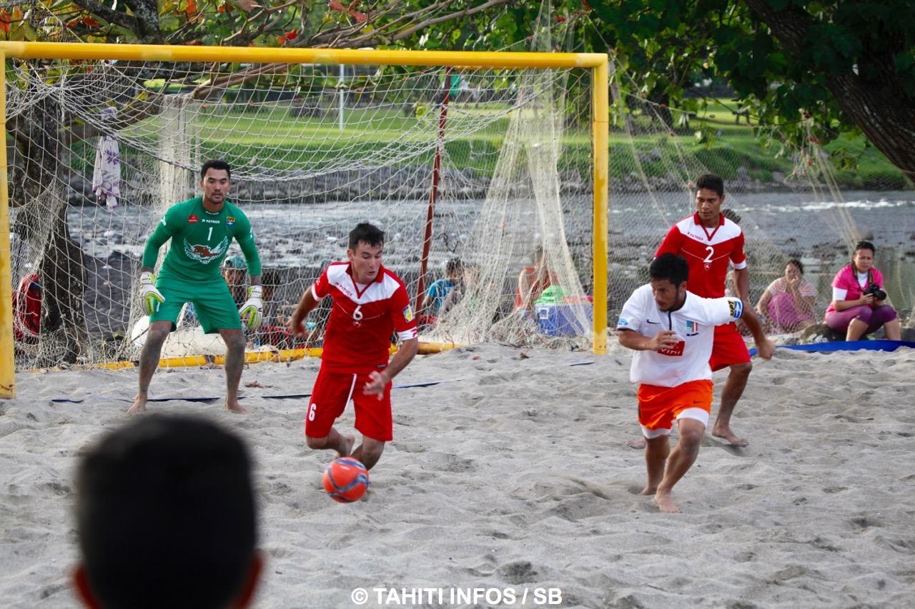 Les Tiki Tama se sont imposés 3-2 contre Mataiea, en rouge