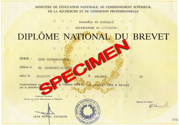 Les résultats du Diplôme national du brevet (DNB)