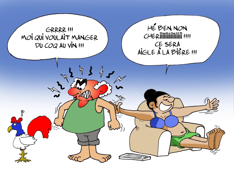 """""""La victoire de la France"""" par Munoz"""