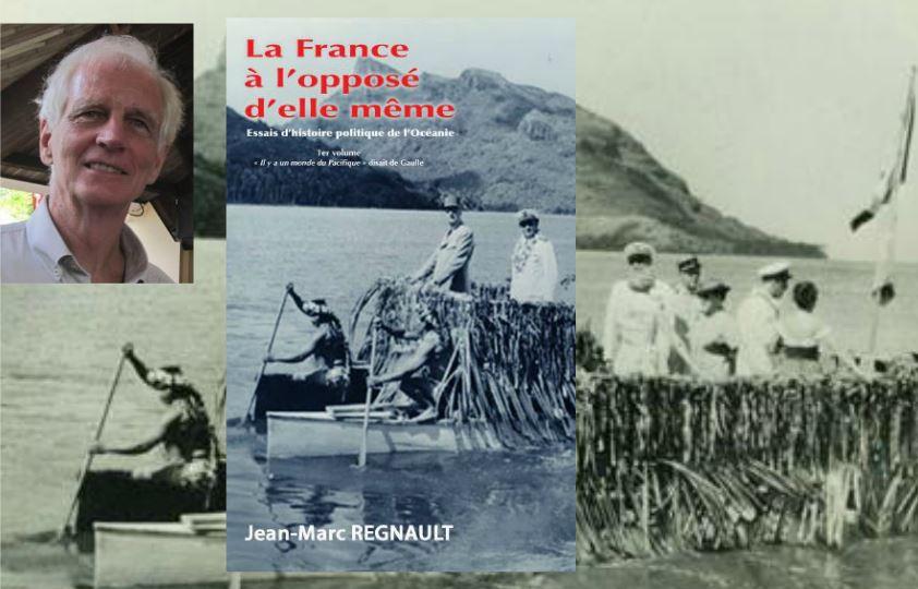 """Jean-Marc Régnault dédicace son livre """"La France à l'opposé d'elle même"""" ce samedi"""