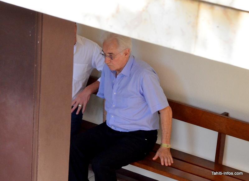 Bill Ravel a déjà effectué deux mois d'incarcération préventive du 2 novembre au 29 décembre 2012.