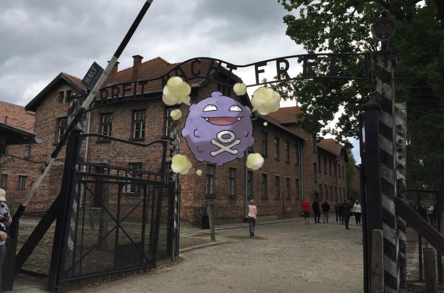 Le musée d'Auschwitz contre la présence du camp dans PokemonGo