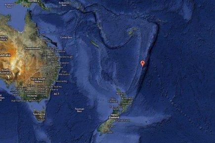 Séisme de magnitude 6,3 dans les îles néo-zélandaises Kermadec (USGS)