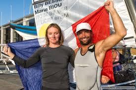 JO-2016 - Voile: les espoirs sur Billy Besson et Marie Riou
