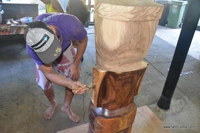 La sculpture, le gagne-pain de plusieurs familles d'Orofara
