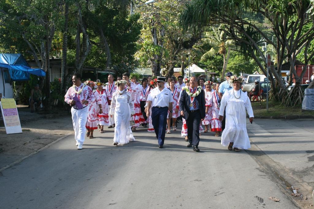Le 14 juillet fêté en toute simplicité à Huahine