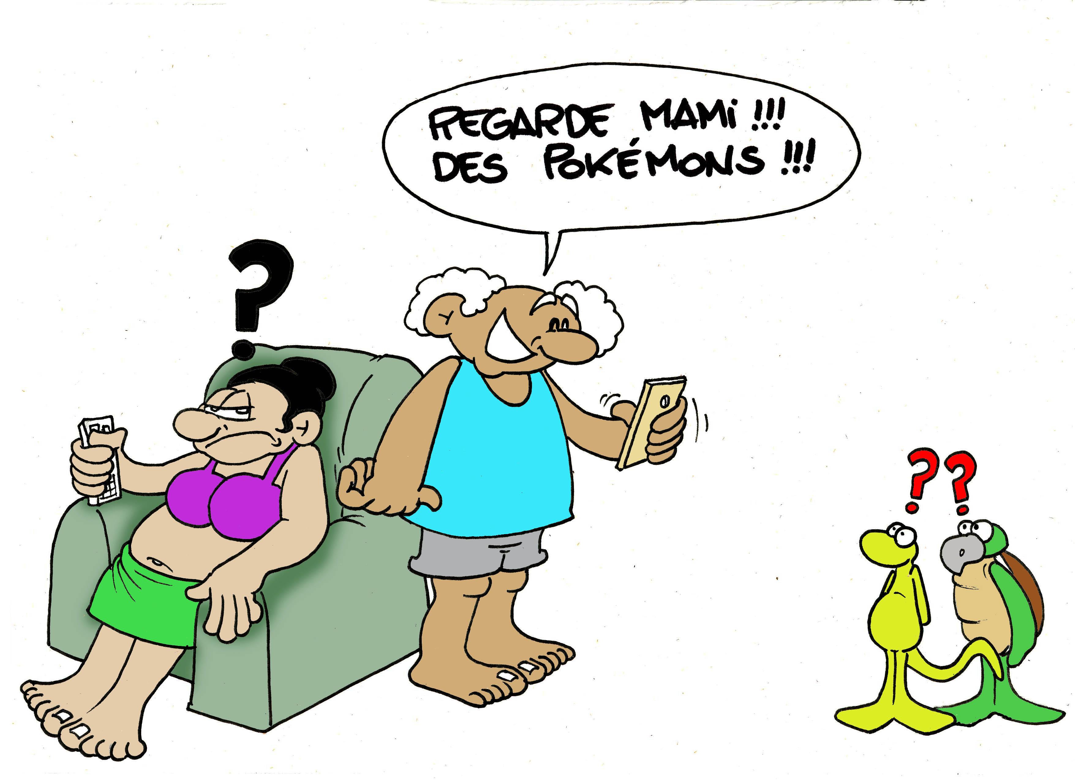 """""""Le Pokemon Go"""" par Munoz"""