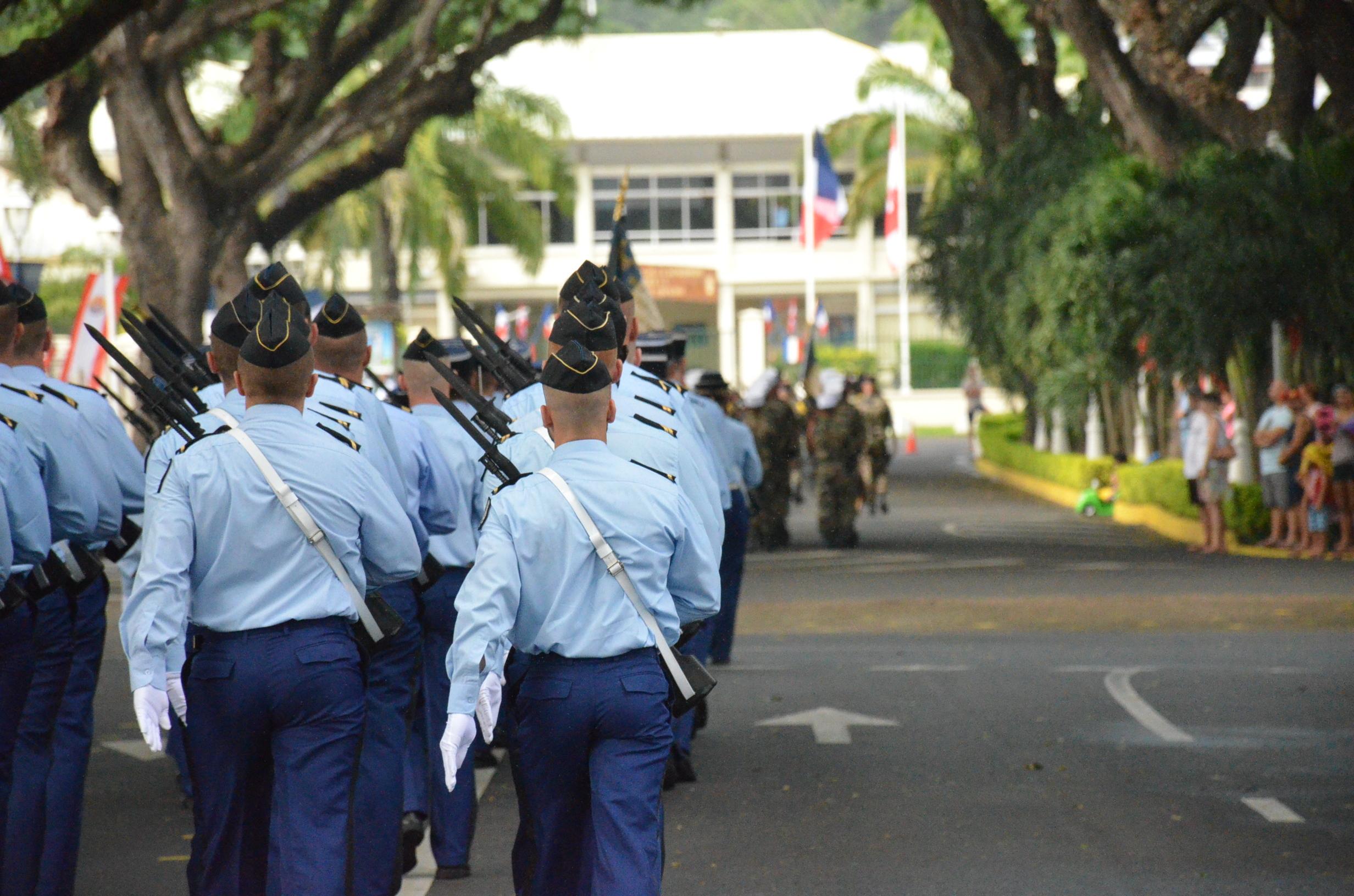 Attentats : 191 réservistes militaires opérationnels en Polynésie