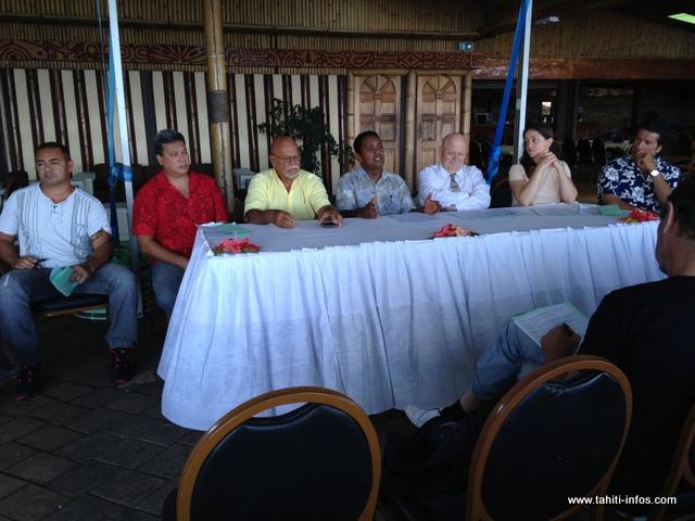 Le comité de soutien à Alain Juppé en Polynésie donnait une conférence de presse ce mardi matin, pour développer le séjour du candidat aux primaires de droite.