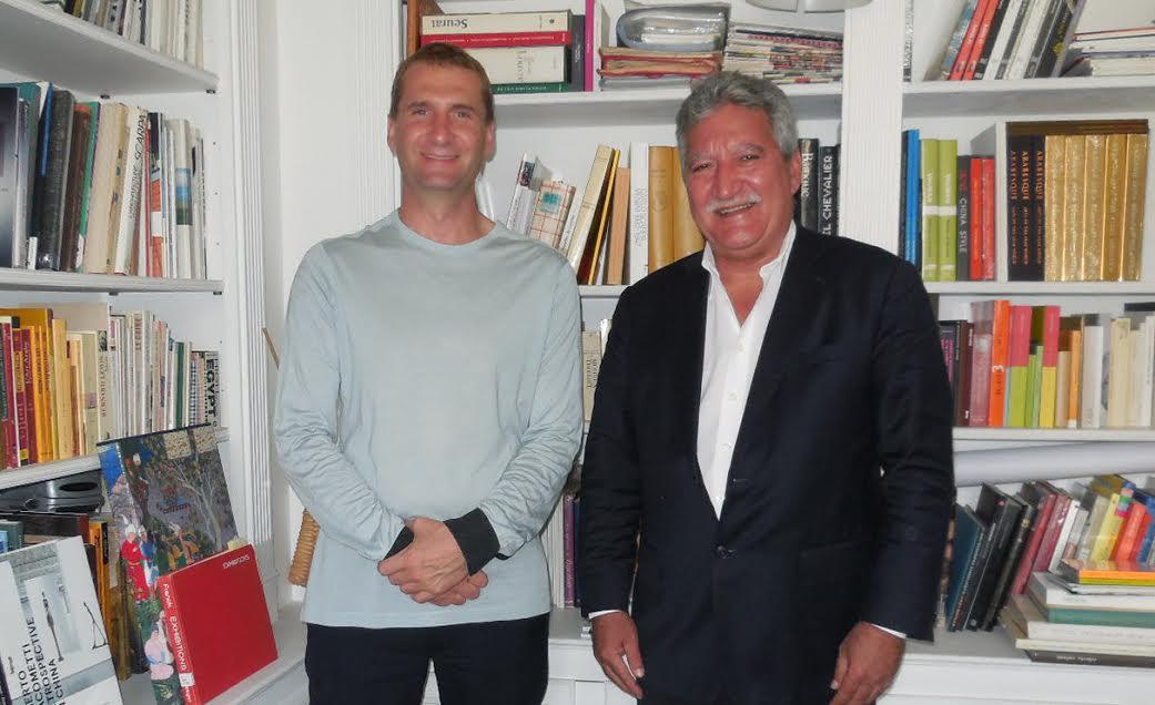 Projet de musée pour la collection Chichong:  Jean-Christophe Bouissou rencontre le scénographe Adrien Gardère