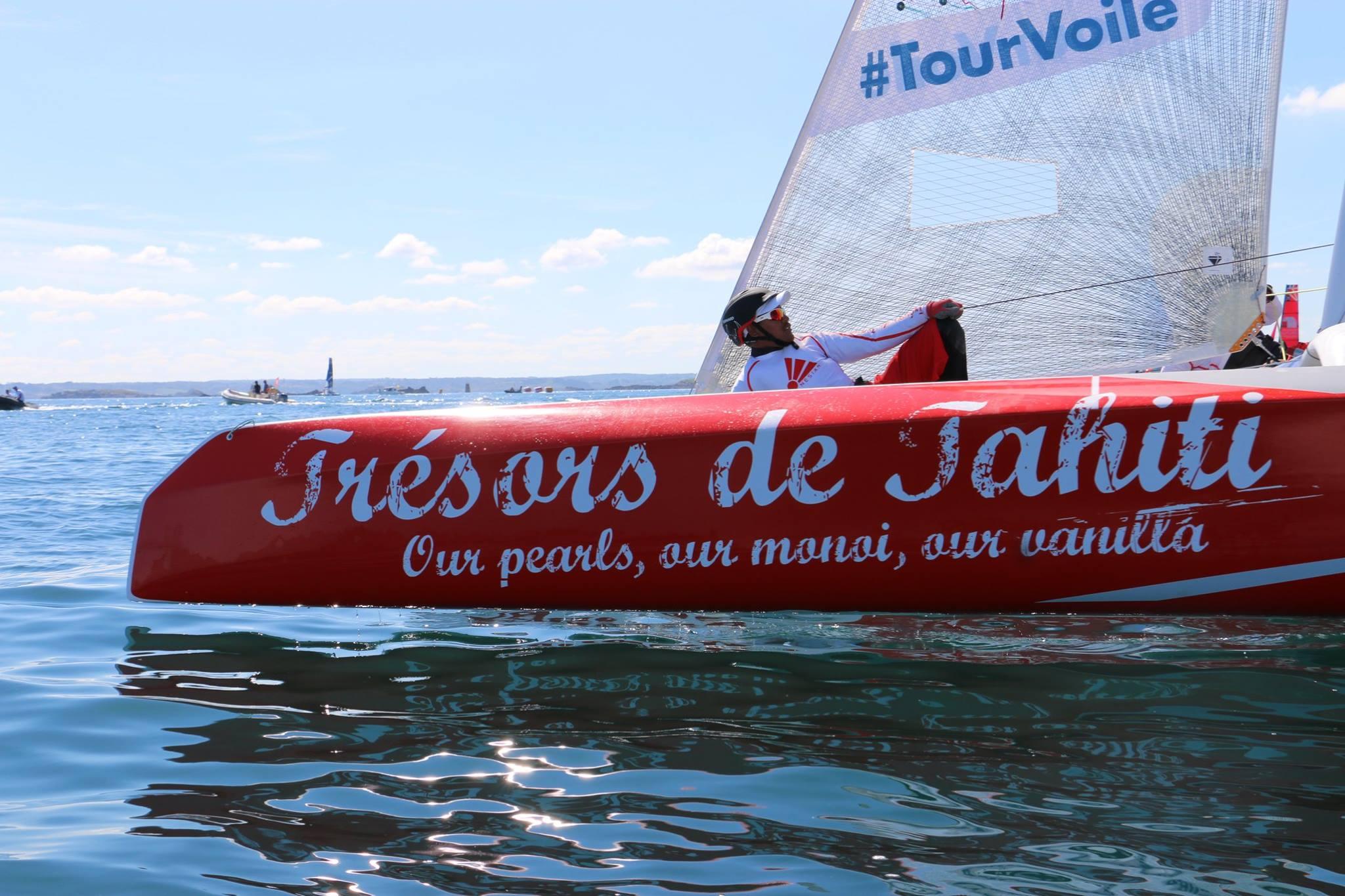 Une première journée en Méditerranée compliquée pour le team tahitien