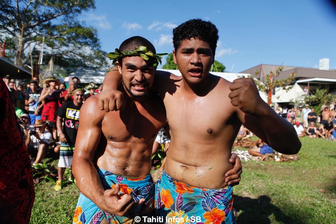 Les deux frères Temauri, de Moorea