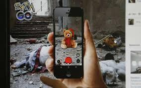 En Syrie, des Pokémons en larmes parmi les ruines