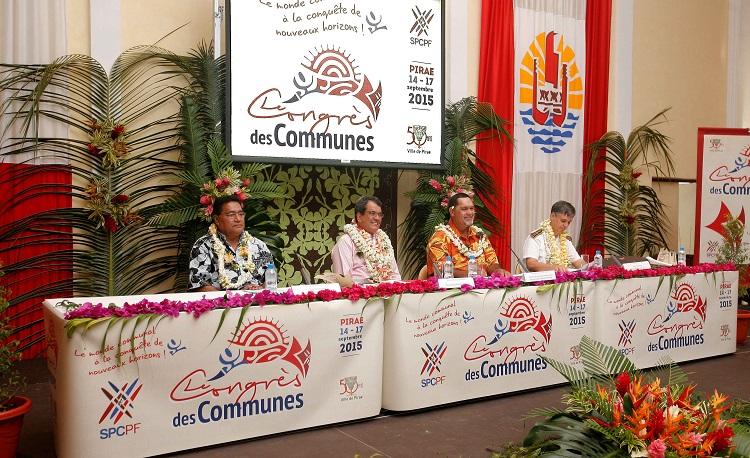 L'an dernier, le congrès des communes s'était déroulé à Pirae.