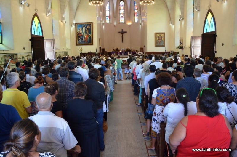 Une messe est donnée mardi soir à 18 heures, cathédrale de Papeete, en hommage aux victimes de l'attentat de  l'église saint-Etienne-du-Rouvray (photo d'archives).