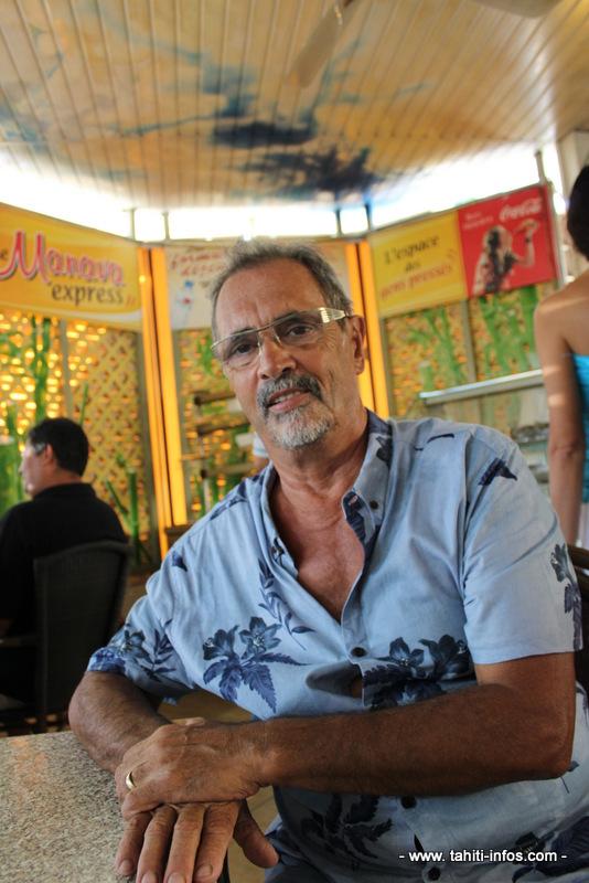 Christian, patron du Manava Café.