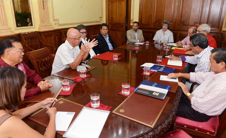 Le Président reçoit une délégation d'investisseurs