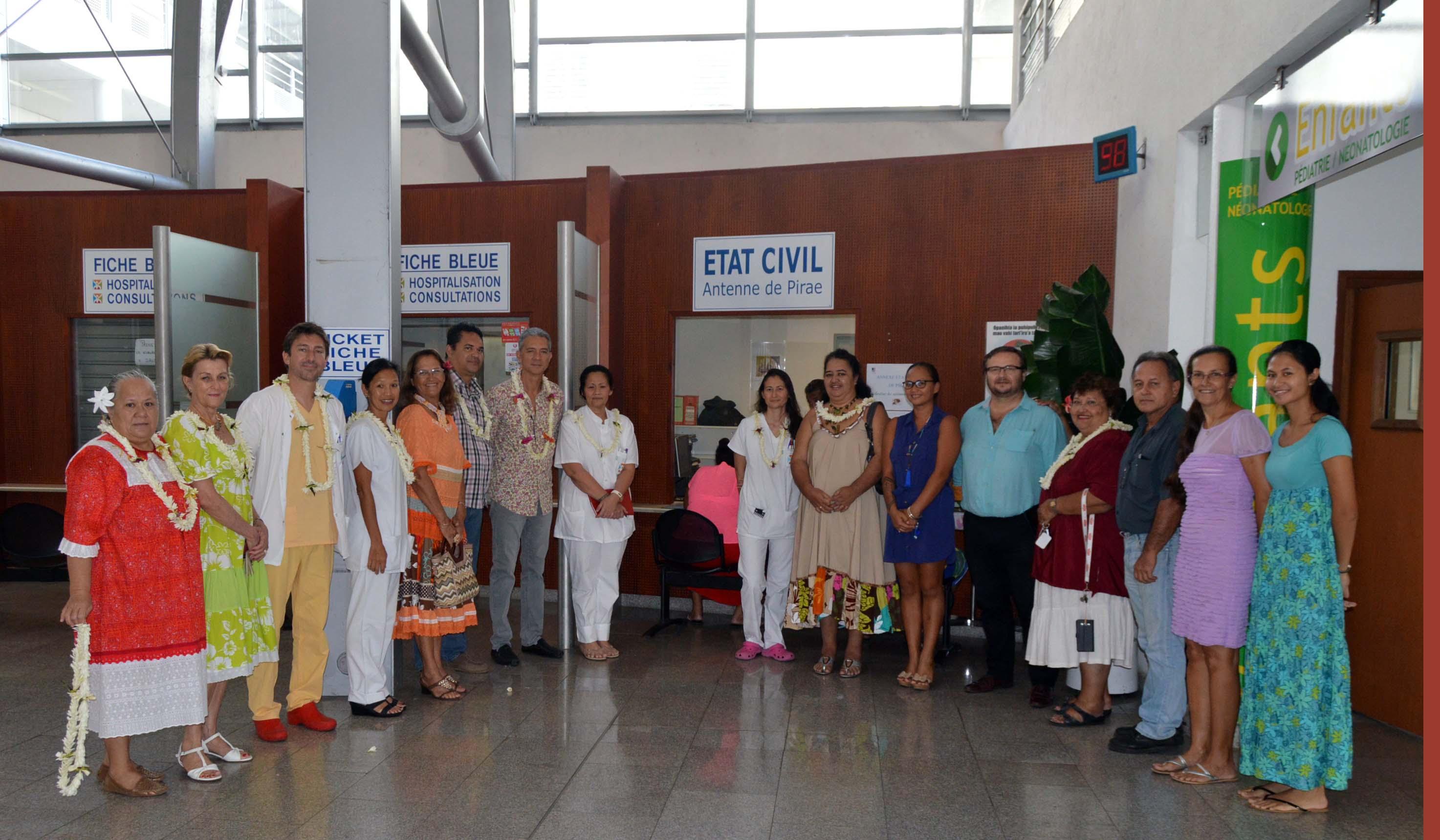 Pirae : les déclarations de naissance se feront désormais dans le hall de l'hôpital