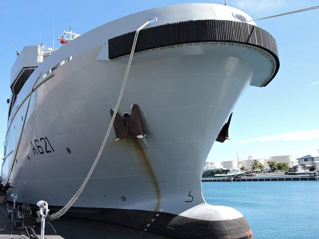 Le bateau était venu en escale à Tahiti. Photo d'archives Tahiti Infos.