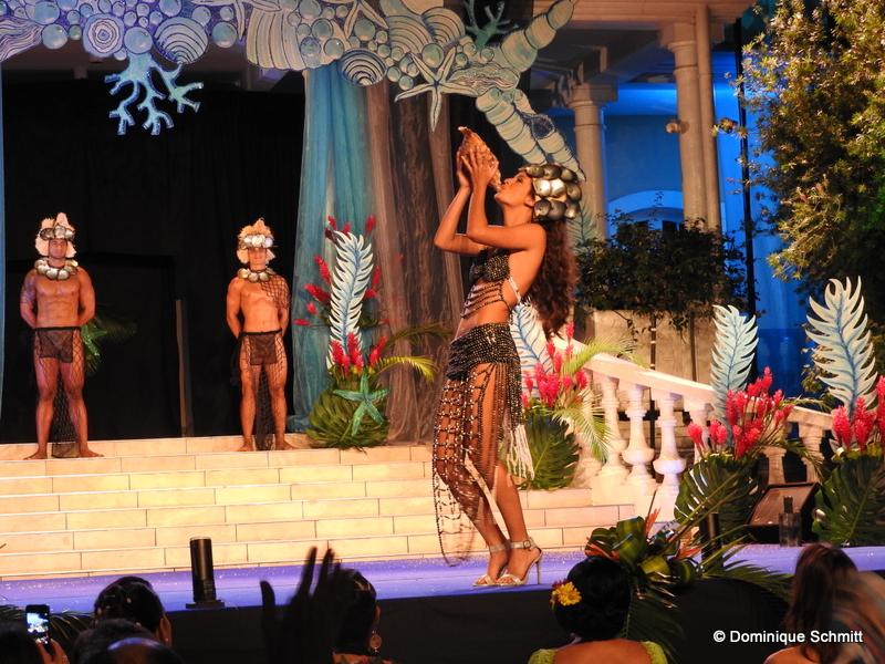 La première dauphine de Miss Tahiti 2016, Vaiata Buisson, a  obtenu le deuxième prix.