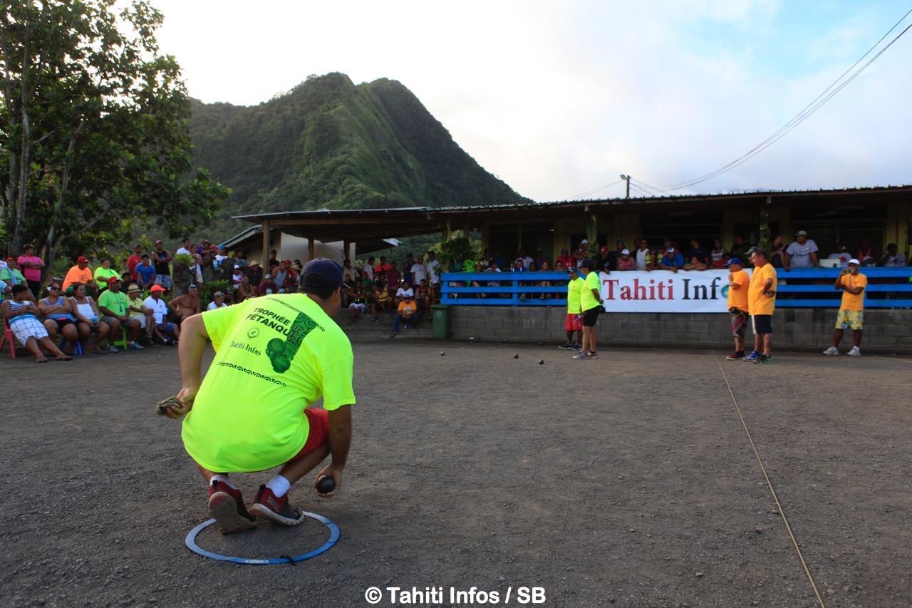 Pétanque – Trophée Tahiti Infos : La présélection de Tahiti confirme son statut