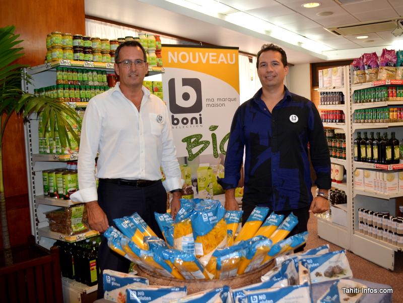 Thierry Gabet (directeur de la Sipac) et son dicteur commercial Tabaré Velazquez-Brito.