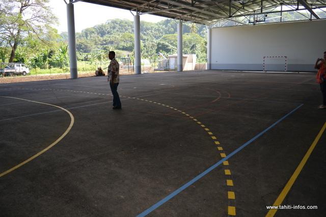 Le complexe sportif, entièrement couvert