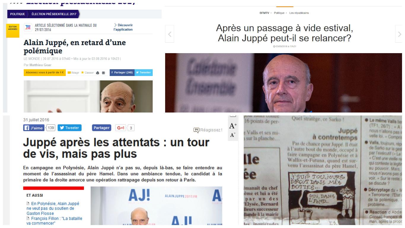 Le déplacement au fenua d'Alain Juppé va-t-il lui faire du tort ?