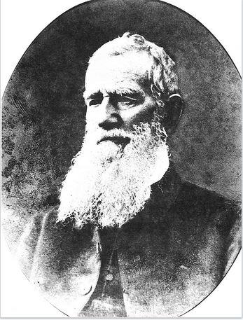 Nous n'avons pas trouvé de portait de Joshua Hill, mais en revanche, il en existe un de l'une de ses victimes, le révérend George Hunn Nobbs, chassé de l'île où il enseignait, avant l'arrivée du dictateur.