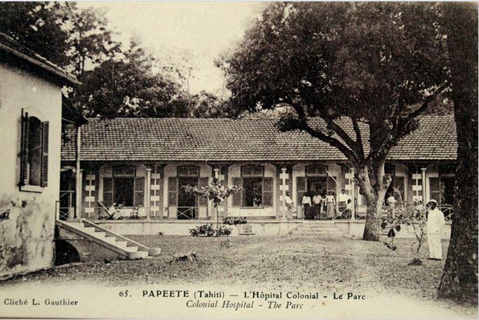 Parc de l'hôpital colonial Vaiami