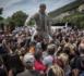 """A Viviers, une statue de Johnny érigée """"par les fans, pour les fans"""""""