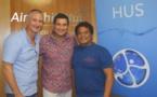 Raimana Van Bastolaer et Pascal Vahirua veulent un centre de rééducation à Tahiti