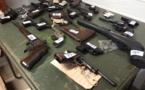 200 armes et 11 341 munitions illégales à la casse pour éviter des drames dans les foyers