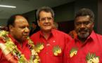 Fritch prépare le Forum des îles du Pacifique à Fidji