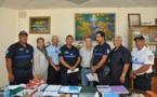 Trois mūto'i de Punaauia ont été félicités pour leur bravoure