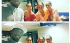 Usain Bolt en vacances à Bora Bora