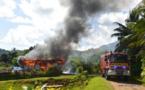 """Un fare part en fumée à Raiatea, la famille """"a tout perdu"""" (Màj)"""