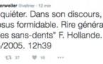 """""""Sans-dents"""": Trierweiler publie un SMS attribué à Hollande"""