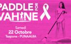 Paddle For Vahine : ramez déguisées par solidarité
