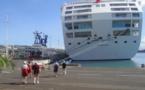 1 900 touristes à Papeete aujourd'hui