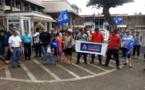 Des policiers appellent à manifester devant le palais de justice de Papeete