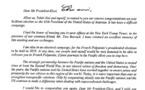 Gaston Flosse félicite Donald Trump au nom de Tahiti Nui