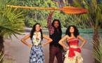 Les people ont rencontré Vaiana à Disneyland Paris